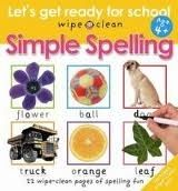 Pan Macmillan LETS GET READY FOR SCHOOL SIMPLE SPELLING - PRIDDY, R. cena od 141 Kč