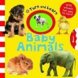 Pan Macmillan TURN AND LEARN: BABY ANIMALS - PRIDDY, R. cena od 0 Kč