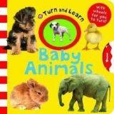 Pan Macmillan TURN AND LEARN: BABY ANIMALS - PRIDDY, R. cena od 141 Kč