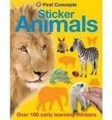 Pan Macmillan FIRST STICKER CONCEPTS: ANIMALS cena od 94 Kč