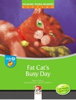 Helbling Languages HELBLING YOUNG READERS Stage D: FAT CAT´S BUSY DAY + CD-ROM ... cena od 151 Kč