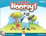 Helbling Languages HOORAY, LET´S PLAY! STARTER STUDENT´S BOOK WITH SONGS AUDIO ... cena od 317 Kč