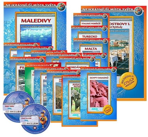 Nejkrásnější místa světa 2 - 20 DVD cena od 249 Kč