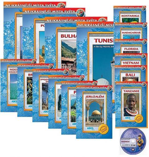 Nejkrásnější místa světa 4 - 20 DVD cena od 259 Kč