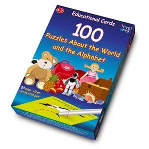 100 Puzzles About the World and the Alphabet cena od 135 Kč
