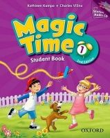 OUP ELT MAGIC TIME Second Edition 2 STUDENT´S BOOK with STUDENT AUDI... cena od 303 Kč