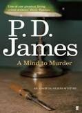 Faber & Faber A MIND TO MURDER - JAMES, P.D. cena od 216 Kč