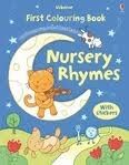 Usborne Publishing FIRST NURSERY RHYMES COLOURING BOOK WITH STICKERS - BROOKS, ... cena od 99 Kč