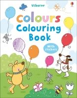 Usborne Publishing MY FIRST COLOURS COLOURING BOOK WITH STICKERS - LAMB, S. cena od 108 Kč