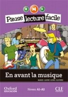 CLE international PAUSE LF A1-A2 EN AVANT LA MUSIQUE + CD cena od 202 Kč