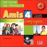 CLE international AMIS ET COMPAGNIE 4 CD AUDIO INDIVIDUEL - SAMSON, C. cena od 217 Kč
