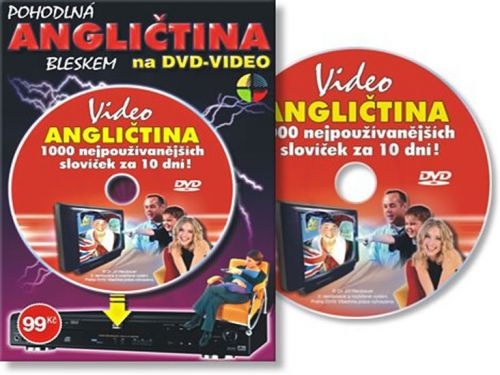 Angličtina 1000 slov za 10 dní - DVD cena od 0 Kč