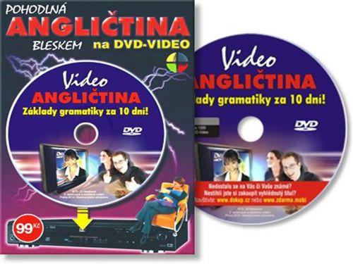 Angličtina základy gramatiky za 10 dní-DVD cena od 61 Kč