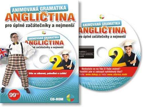 Angličtina animovaná gramatika II. - CD cena od 60 Kč