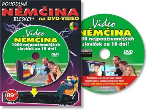 Němčina 1000 slov za 10 dní - DVD cena od 61 Kč