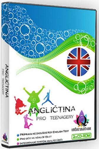 Angličtina pro teenagery - 2CD cena od 73 Kč