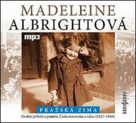 Madeleine Albright: Pražská zima - CD mp3 cena od 115 Kč
