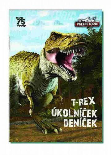 Bonaparte: Úkolníček A6 Prehistoric 3D - Bonaparte cena od 10 Kč
