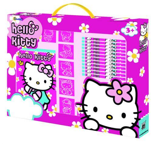 Hello Kitty - razítka v boxu cena od 192 Kč