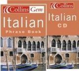 Harper Collins UK COLLINS GEM ITALIAN PHRASEBOOK with AUDIO CD cena od 274 Kč