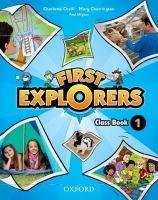 OUP ELT FIRST EXPLORERS 1 CLASS BOOK - COVILL, Ch., CHARRINGTON, M.,... cena od 347 Kč
