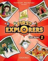 OUP ELT FIRST EXPLORERS 2 CLASS BOOK - COVILL, Ch., CHARRINGTON, M.,... cena od 347 Kč