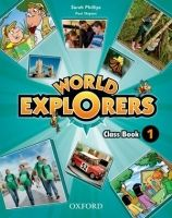 OUP ELT WORLD EXPLORERS 1 CLASS BOOK - PHILLIPS, S., SHIPTON, P. cena od 437 Kč
