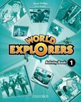 OUP ELT WORLD EXPLORERS 1 ACTIVITY BOOK - PHILLIPS, S., SHIPTON, P. cena od 329 Kč