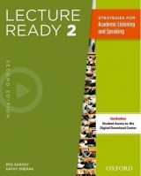 OUP ELT LECTURE READY Second Edition 2 STUDENT´S BOOK With ACCESS TO... cena od 671 Kč