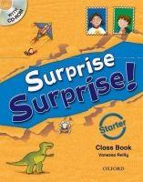 OUP ELT SURPRISE SURPRISE! STARTER CLASS BOOK with CD-ROM - REILLY, ... cena od 377 Kč