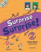 OUP ELT SURPRISE SURPRISE! 2 CLASS BOOK with CD-ROM - REILLY, V. cena od 377 Kč