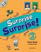 OUP ELT SURPRISE SURPRISE! 3 CLASS BOOK with CD-ROM - REILLY, V. cena od 396 Kč