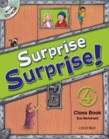 OUP ELT SURPRISE SURPRISE! 4 CLASS BOOK with CD-ROM - MOHAMED, S. cena od 396 Kč