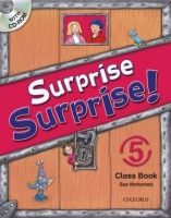 OUP ELT SURPRISE SURPRISE! 5 CLASS BOOK with CD-ROM - MOHAMED, S. cena od 377 Kč