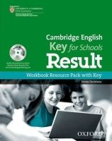 OUP ELT CAMBRIDGE ENGLISH: KEY FOR SCHOOLS RESULT WORKBOOK RESOURCE ... cena od 272 Kč