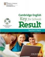 XXL obrazek OUP ELT CAMBRIDGE ENGLISH: KEY FOR SCHOOLS RESULT TEACHER´S PACK wit...
