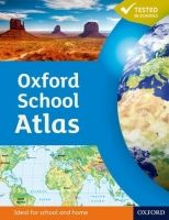 XXL obrazek OUP ED OXFORD SCHOOL ATLAS - WIEGAND, P.