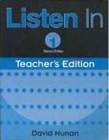 Heinle ELT part of Cengage Lea LISTEN IN Second Edition 1 TEACHER´S EDITION - NUNAN, D. cena od 560 Kč