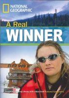 Heinle ELT part of Cengage Lea FOOTPRINT READERS LIBRARY Level 1300 - A REAL WINNER - WARIN... cena od 106 Kč