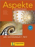 Langenscheidt ASPEKTE 1 TEIL 2 LEHRBUCH und ARBEITSBUCH mit AUDIO CDs /2/ cena od 450 Kč