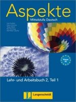 Langenscheidt ASPEKTE 2 TEIL 1 LEHRBUCH und ARBEITSBUCH mit AUDIO CDs /2/ cena od 467 Kč