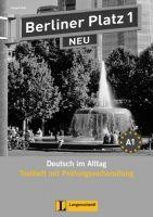 Langenscheidt BERLINER PLATZ NEU 1 TESTHEFT1 mit AUDIO-CD - LEMCKE, C., RO... cena od 339 Kč