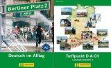 Langenscheidt BERLINER PLATZ NEU 2 LEHRBUCH und ARBEITSBUCH mit AUDIO CDs ... cena od 426 Kč