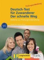 Langenscheidt DEUTSCH-TEST für ZUWANDERER - DER SCHNELLE WEG TESTHEFT mit ... cena od 212 Kč