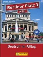 Langenscheidt BERLINER PLATZ NEU 3 LEHRBUCH und ARBEITSBUCH mit AUDIO CDS ... cena od 458 Kč