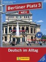 Langenscheidt BERLINER PLATZ NEU 3 LEHRBUCH und ARBEITSBUCH mit AUDIO CDs ... cena od 569 Kč