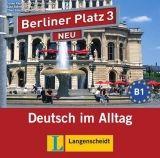 Langenscheidt BERLINER PLATZ NEU 3 AUDIO CDs /2/ zum LEHRBUCH - KAUFMANN, ... cena od 339 Kč