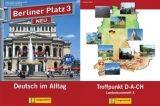 Langenscheidt BERLINER PLATZ NEU 3 LEHRBUCH und ARBEITSBUCH mit AUDIO CDs ... cena od 459 Kč