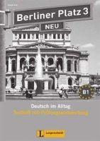 Langenscheidt BERLINER PLATZ 3 NEU TESTHEFT mit CD - KAUFMANN, S., LEMCKE,... cena od 382 Kč