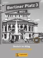 Langenscheidt BERLINER PLATZ NEU 3 LEHRERHANDREICHUNGEN - KAUFMANN, S., LE... cena od 229 Kč